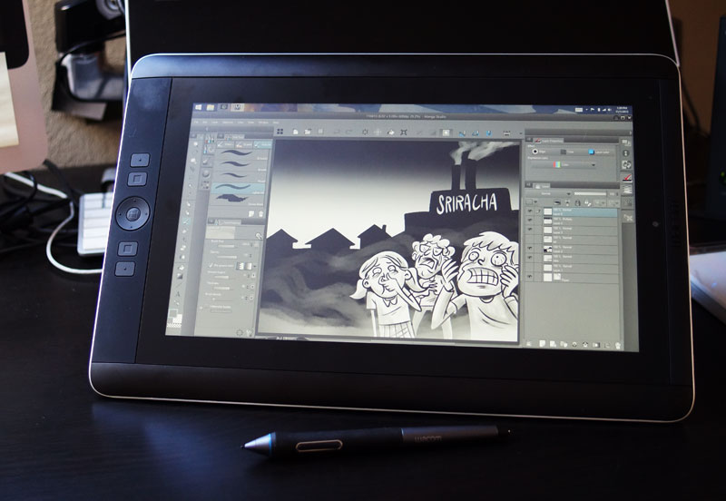 Surface Pro 2 vs Cintiq Companion | one of the johns